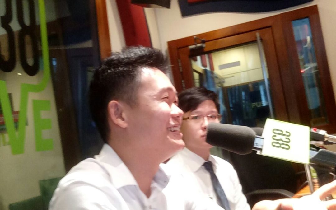 Interview by radio station about how newbie investors are able to profit from the stock Market